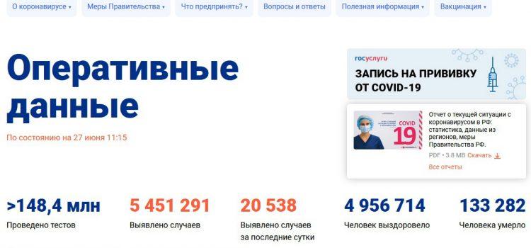 В интернете появились сайты, дублирующие официальный портал стопкоронавирус.рф