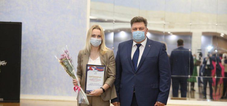 Специалисты нашей поликлиники получили награды за участие в проекте «Шаг к здоровью».